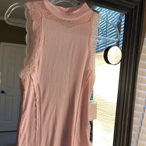 NWT Free People Pink Tank Top